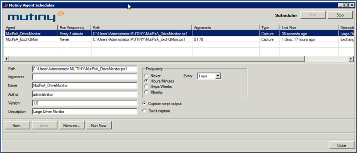 Monitor Windows applications with PowerShell Scheduler